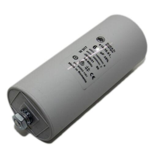 4.16.10.13.64 Condensateur pour moteurs d/'exploitation 8uf 425vac ø32x55mm 416101364