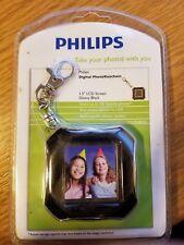 "Phillips 1.5"" Personalized Digital Photo Keychain, NIB"
