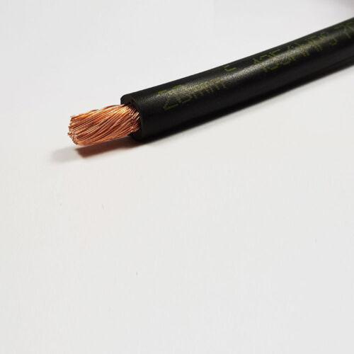 20mm2 135 amperios una batería de PVC flexible cable de soldadura Negro Rojo 1-100M M longitudes