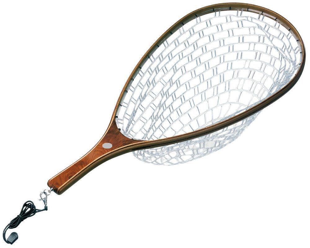 Edelholz Watkescher, Schonkescher, Fliegenfischer Kescher