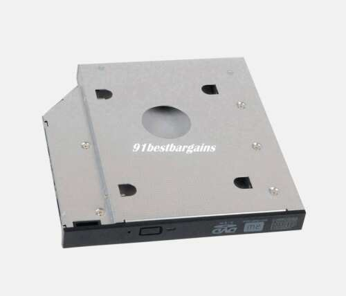 2nd HDD SSD Hard Drive Caddy Case Adapter LED for Lenovo ThinkPad T510 T520 T530