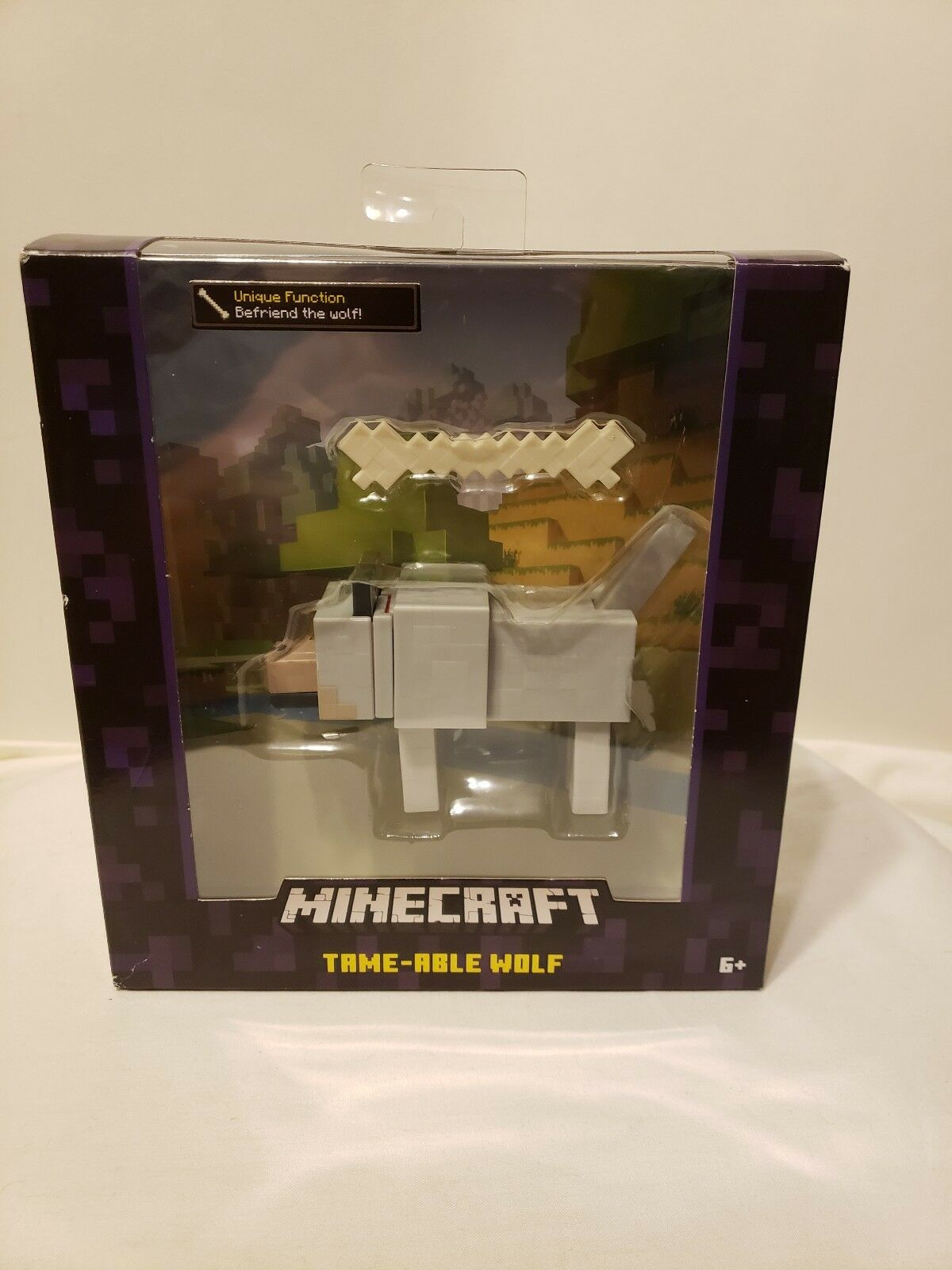 Minecraft Survival Mode Tame-Able Tame-Able Tame-Able Wolf NEW FACTORY SEALED Free Ship Video Game 4f449f