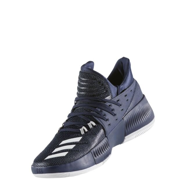 the best attitude 34685 ca093 Adidas Dame 3 Mens Basketball Shoes Collegiate Navy-White BY3190