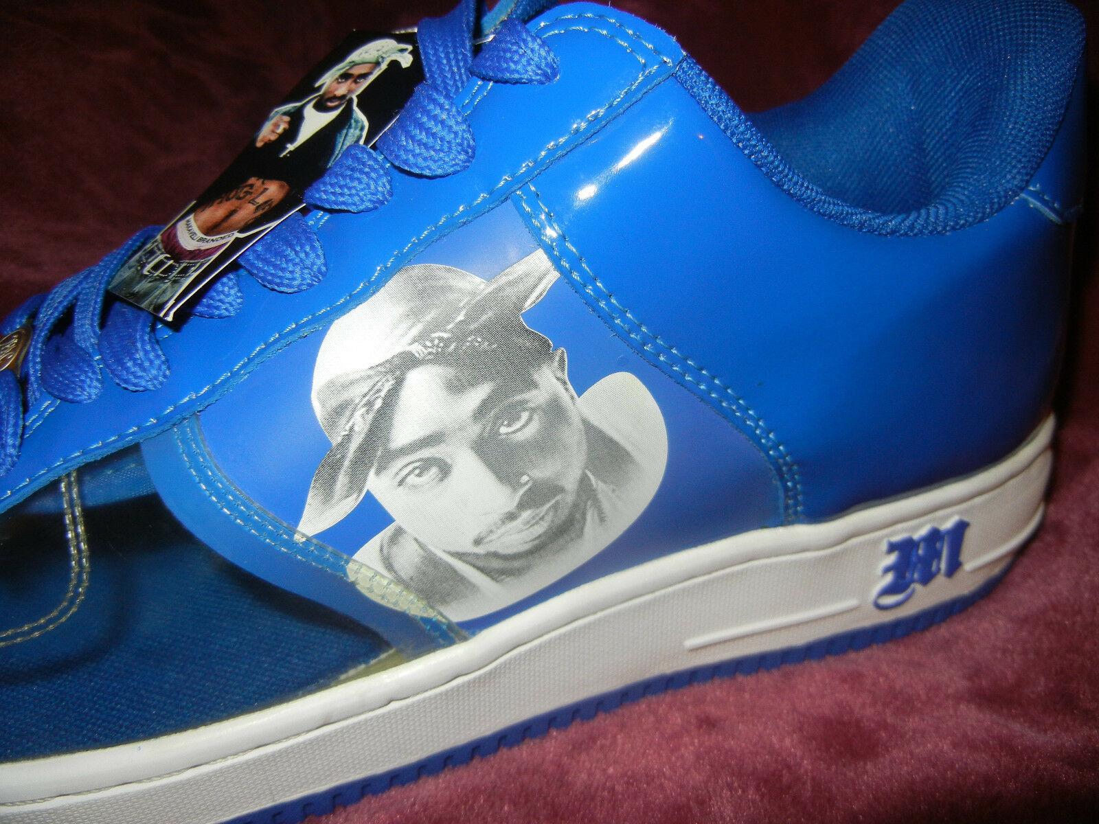 TUPAC SHAKUR #Makaveli #AllEyezOnme #2PAC size size size 13 scarpe da ginnastica SHOES Redemption DS 1ad75b