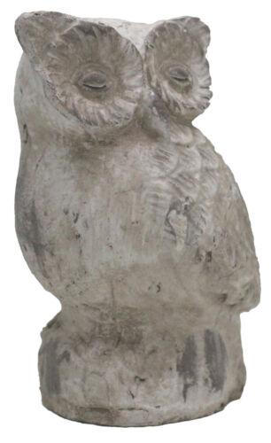 Dekofigur Hibou Athéna jardin personnage shabby look vintage décoration animal sculpture w