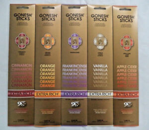 Gonesh-Incense-Sticks-Holiday-Assortment-Cinnamon-Orange-5-Packs-20-Sticks
