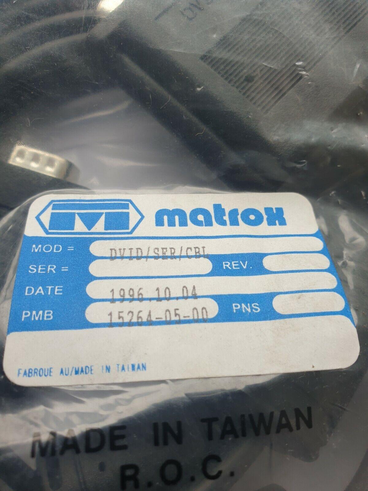 MATROX DVID/SER/CBL 15264-05-00 CABLE (R3S5.4B4)