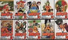 Brand New • Naruto Manga (English): Volumes 11-20