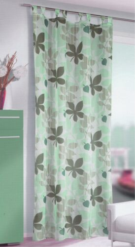 Bela 135*245 cm Schlaufenschal Fertigvorhang Fertigschal Übergardine Vorhang