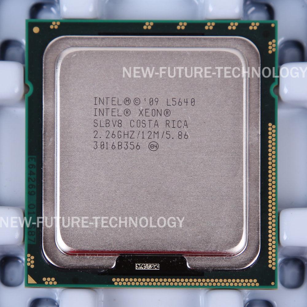 Intel Xeon L5640 2 26GHz Six Core (AT80614005133AB) Processor