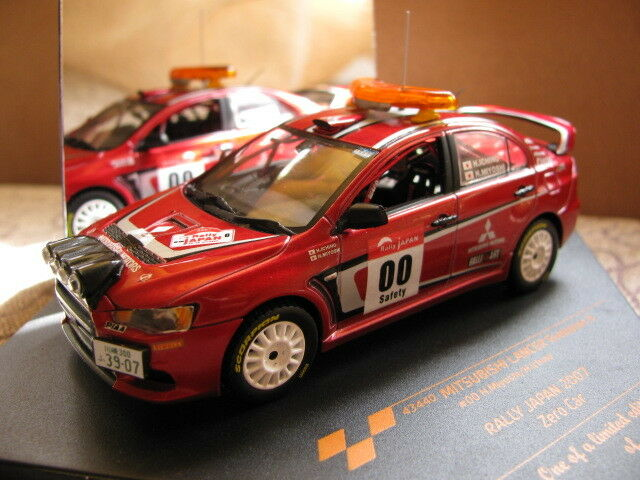 1 43 Mitsubishi Lancer Evo X Rally Japan 2007 Zero Car diecast