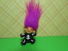 "HALLOWEEN SKELETON PIN - 2"" Russ Troll  Doll - NEW"