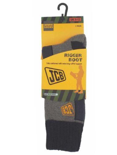 Taglia 6-8.5 JCBX000051 JCB calze da 1PK Rigger Boot Grigio