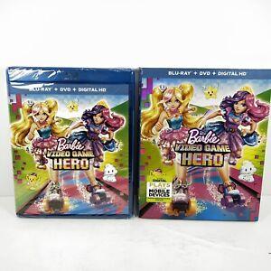 Barbie-Video-Game-Hero-Blu-ray-DVD-2017-Inc-Digital-Copy-Nee-Sealed