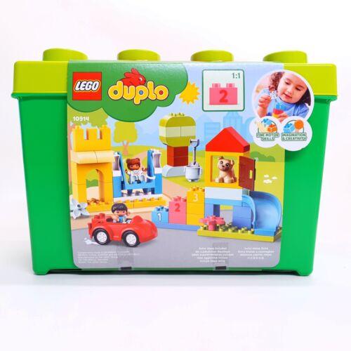 Lego Duplo Deluxe Brick Box 1 and a half + imaginative play 10914 creative