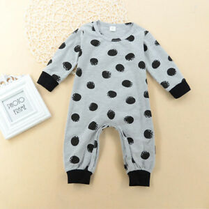 09f85fc23e01 Image is loading Newborn-Infant-Baby-Girl-Romper-Bodysuit-Jumpsuit-Outfits-