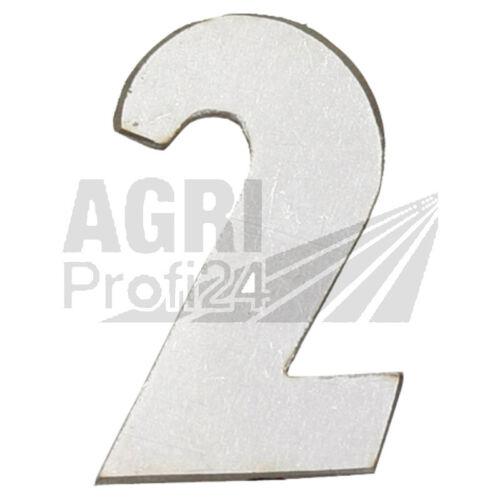 Farmer 2 Fendt 2/_Emblem/_Schriftzug/_Fix 2 Favorit 2