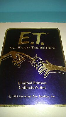 Coins 1982 E.t.the Extra-terrestrial 4 Coin Silver Set Very Rare Coin Set A Packing Of Nominated Brand