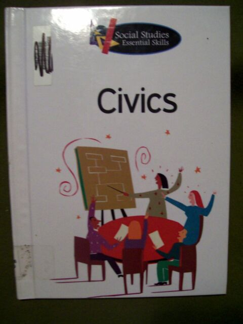 Social Stus Essential Skills Civics By Liz Brown 2008 Hardcover