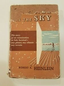 TUNNEL-IN-THE-SKY-by-Robert-A-Heinlein-1955-hcdj-FIRST-EDITION-1st-PRINT-RARE