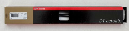 Black NIB DT Swiss Aerolite 2.0//0.9//2.3 J-Bend Spokes 20 ct. Various Lengths