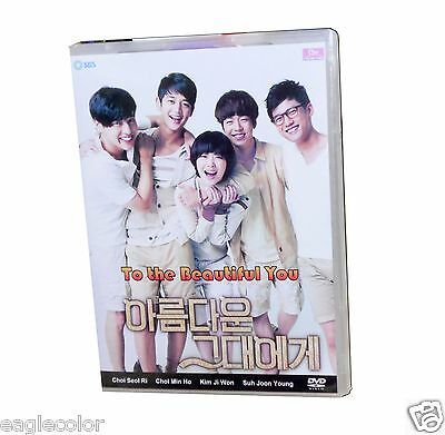 To the Beautiful You Korean Drama (4DVDs) Excellent English & Quality!