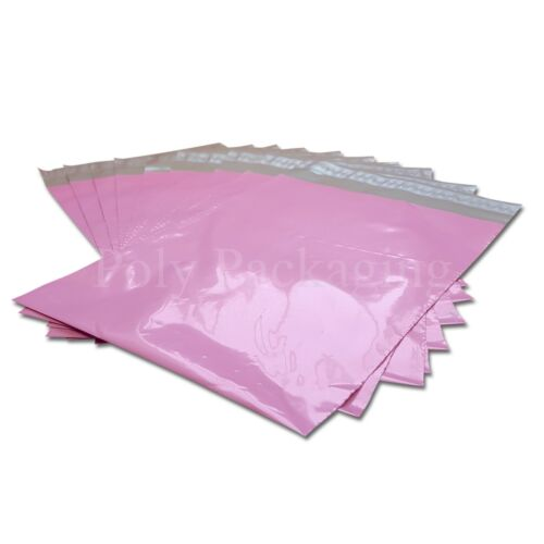 "25 x PINK Mailing Bags 6x9"" 165x230mmRoyal Mail LARGE LETTER Size A4 LL Value"