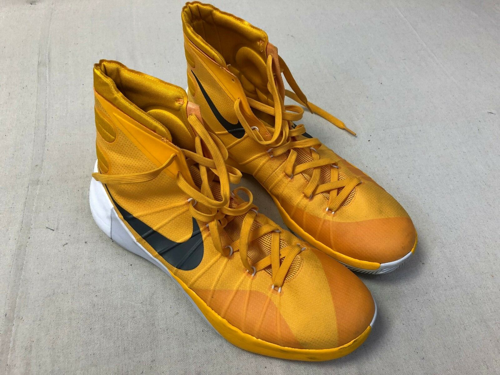 Nike Hyperdunk Sz 14 Basketball Shoes Yellow White USA 812944 711 S05 Brand discount