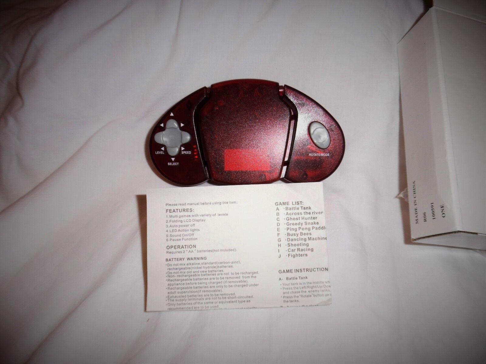 Oldtimer - rote hand elektronischer zehn spiele zu einem einem einem einzigartigen sammlerst  ck geschenk 3ecbb9