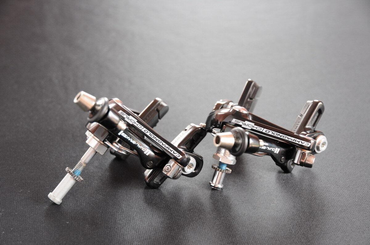 NEW Campagnolo CHORUS Skeleton brake calipers, set, 11 speed, NEW