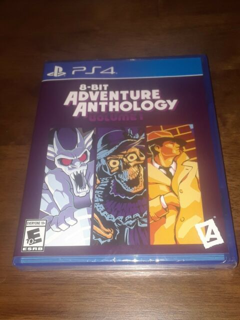 8-Bit Adventure Anthology (PlayStation 4, PS4) *Sealed* Limited Run Games #182