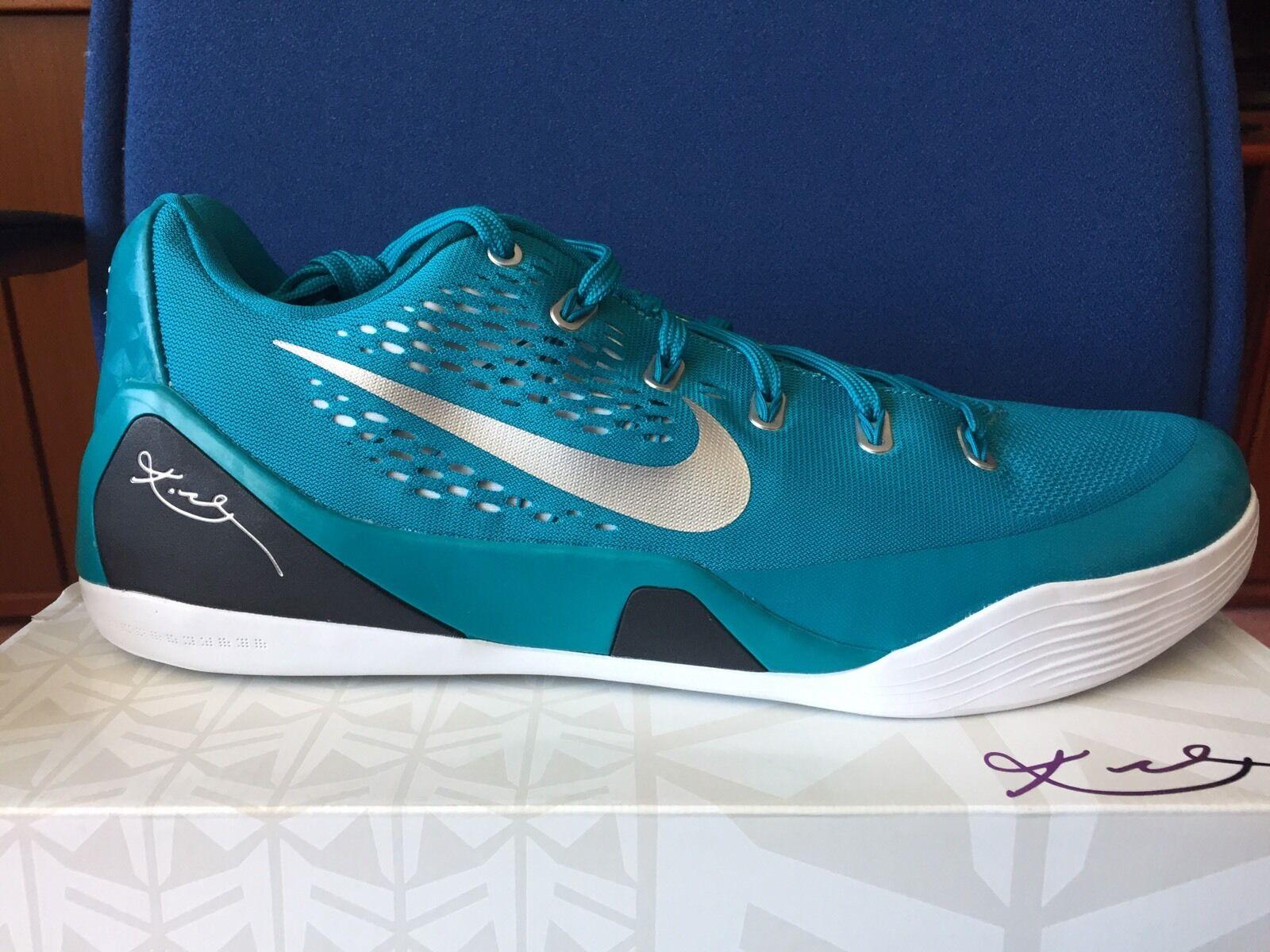 Nike Kobe IX EM TB Tropical Teal Sz 16 Bryant Mens Basketball Shoes X Air Jordan