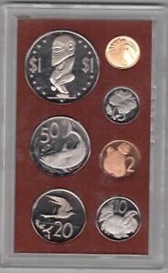 COOK-ISLANDS-7-DIF-PROOF-COINS-SET-1-CENT-1-1973-YEAR-MINT-IN-PLASTIC