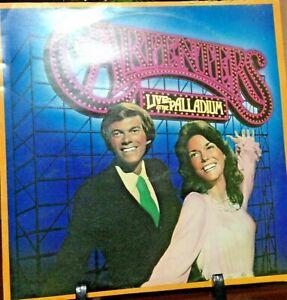 CARPENTERS-Live-At-The-Palladium-Album-Released-1976-Record-Vinyl-Collection-USA