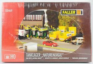 FALLER-130469-Spur-H0-Tanklager-034-Naturenergie-034-Bausatz-OVP-in-Folie