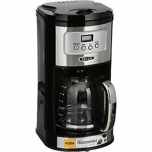 Bella 12 Cup Stainless Steel Coffee Maker With Permanent Filter Ebay