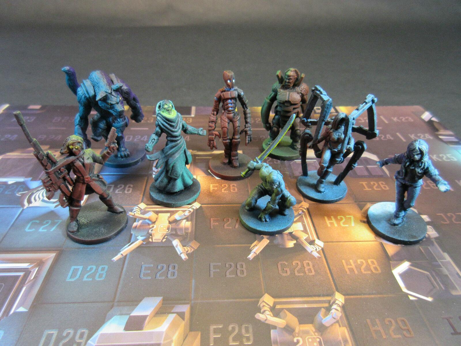 Painted Specter OPS jeu de plateau Plaid Hat 2-5 joueurs Stealth Chase déduction