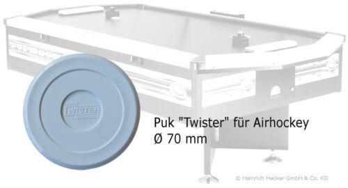 Ersatz PUK für Airhockey Schläger Hammer Twister Profi Qualität Air-Hockey weiss