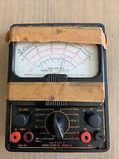 Rare Simpson Electric Model 260 Early Version Volt Ohm Milliameter Multimeter