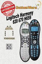 Logitech Harmony 620 670 H659 Button Repair Kit DIY Universal Remote Control