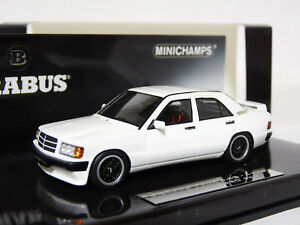 Minichamps-437032602-1-43-1989-Brabus-190E-3-6S-Mercedes-Benz-Resin-Model-Car