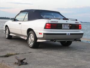 Cavalier Z24 Décapotable 1989