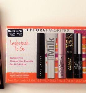 848c58f1ac6 Sephora Favorites LashStash To Go 5 Mini Sample Trial Size Mascara + ...