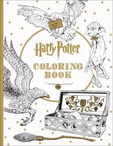 1 of 1 harry potter coloring book - Coloring Book Harry Potter
