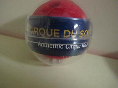 Cirque De Soleil Naso Rosso Costume-mostra Il Titolo Originale Garanzia Al 100%