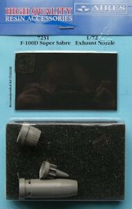 Aires-1-72-F-100D-Super-Sabre-Exhaust-Nozzle-for-Italeri-kit-7231