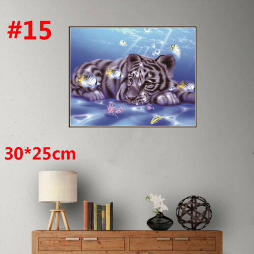 5D Diamond Painting Stitch Embroidery Rhinestone DIY Home Decor Needlework Gift
