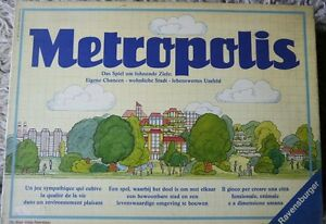 C.60min.spd. Obligatorisch Metropolis 1984ravensburger 2-5sp 16j 54%st 32%glück 15%verh.
