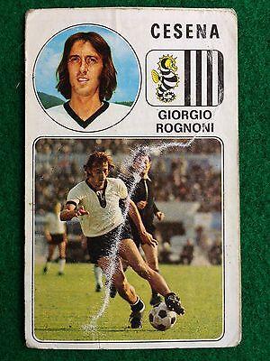 figurina NUMERO 43 CESENA ROGNONI CALCIATORI PANINI 1976//77 NEW