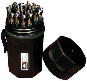 Jobber Length SP-29P #44170 Norseman 29pc Magnum Super Premium drill bit set